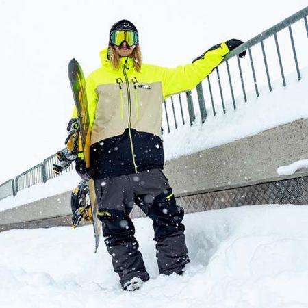 Chaqueta de snowboard Horsefeathers Crescent Atrip 21
