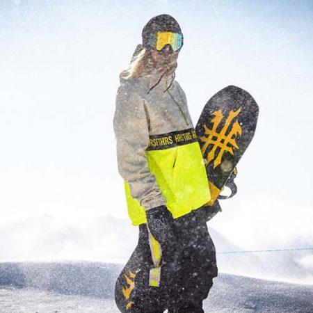 Chaqueta de snowboard Horsefeathers Galen Atrip limeade 21