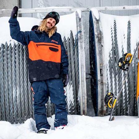 Chaqueta de snowboard Horsefeathers Norman Atrip 21