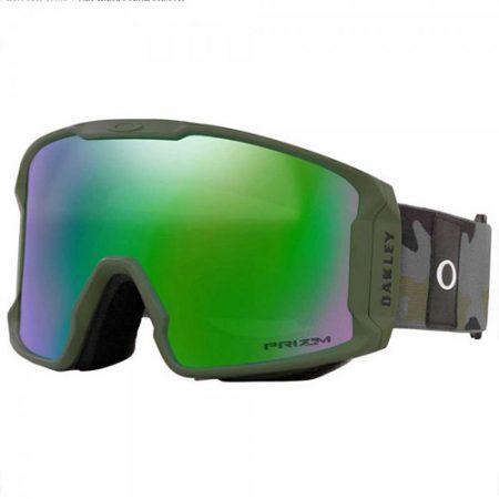 Gafas de snowboard Oakley Line Miner XL Camo Jade