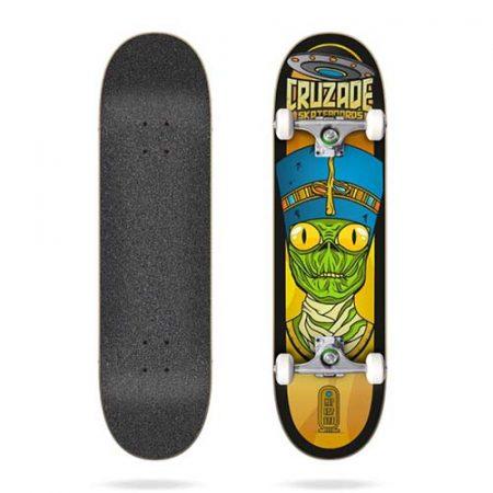 Skateboard completo Cruzade Conspiracy Nefertiti