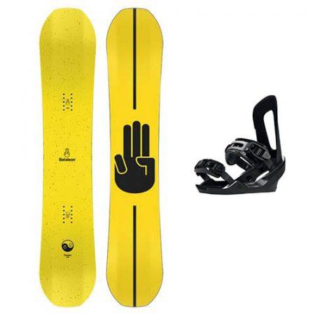 Pack de snowboard Bataleon Chaser 2021