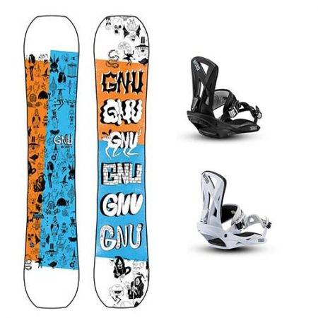Pack de snowboard Gnu Money 2021