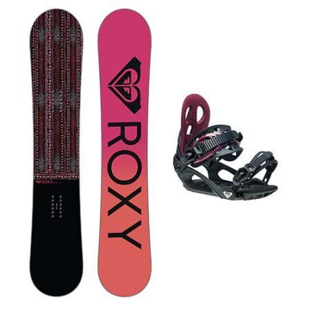 Pack de snowboard Roxy Wahine 2021