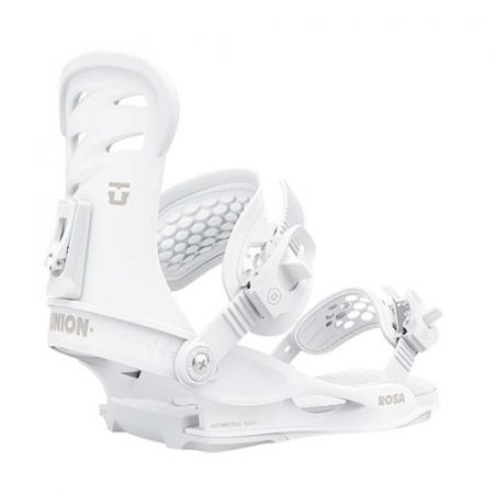 Fijaciones de snowboard Union Rosa White 2021