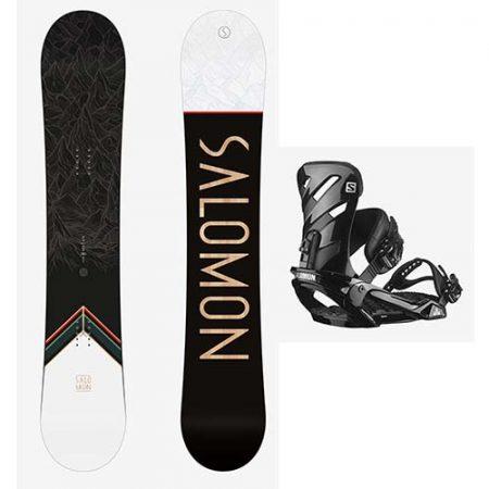 Pack de snowboard Salomon Sight LTD Rhythm 2021