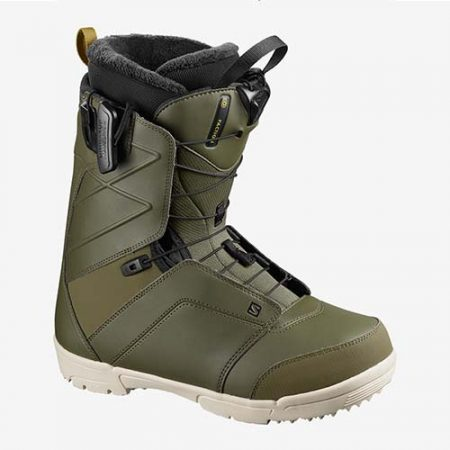 Botas de snowboard Salomon Faction Olive 2021