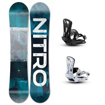 Pack de snowboard Nitro Prime Staxx 2021