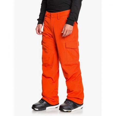 Pantalón de snowboard Quiksilver Porter naranja 2021