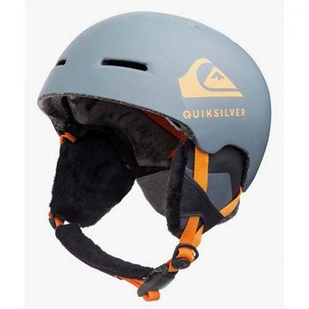 Casco de snowboard Quiksilver Theory gris