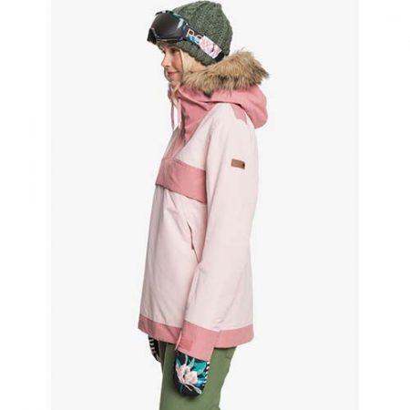 Chaqueta de snowboard Roxy Shelter Rosa 2021