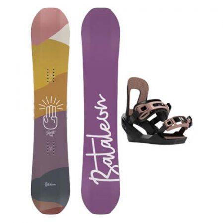 Pack de snowboard Bataleon Spirit 2021