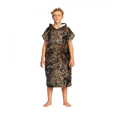 Poncho Billabong Hooded Towel Camuflaje niño