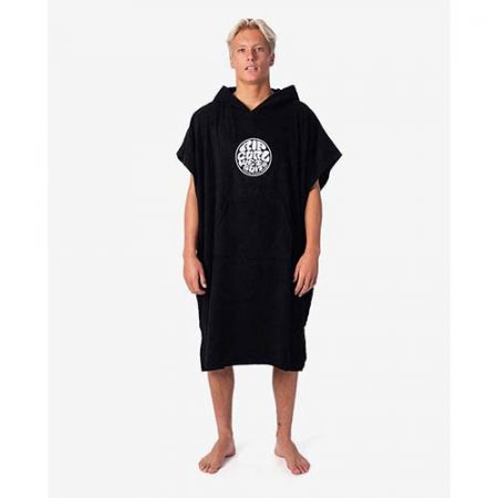 Rip Curl Poncho Wet As Negro