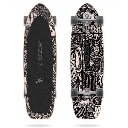 Surfskate Yow X Pukas Dark 34.5