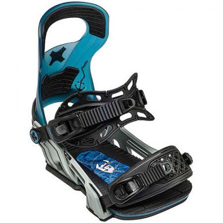 Fijaciones de snowboard Bent Metal Logic Blue 2021