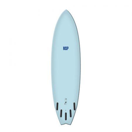 Tabla de surf NSP Elements Fish Blue