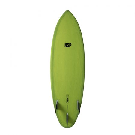 Tabla de surf NSP Protech Tinder D8 Green