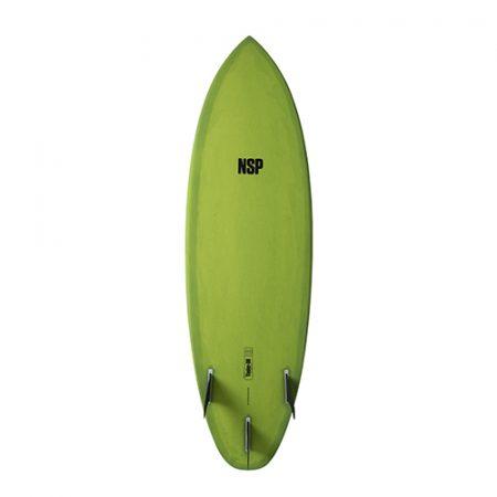 Tabla de surf NSP Protech Tinder D8 Green