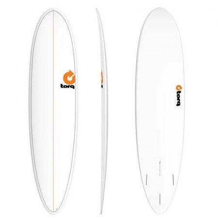 Tabla de surf Torq Fun 6 8″ Pinline Blanco