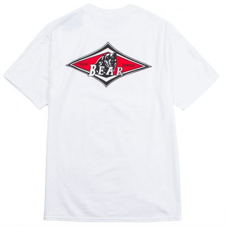 Camiseta Bear logo blanco