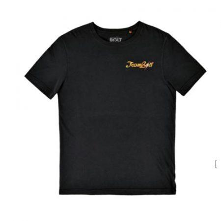 Camiseta Lightning Bolt Team negro