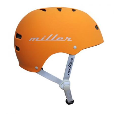 Casco de skate Miller Pro Helmet II naranja