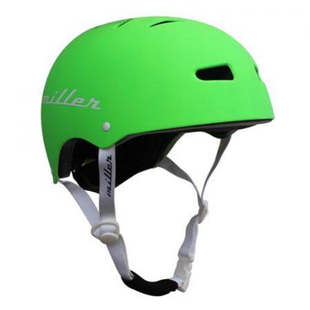 Casco de skate Miller Pro Helmet II verde fluor