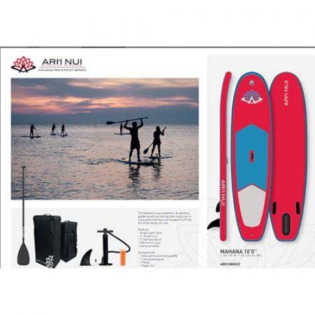 Pack de Paddle surf Ari Nui Mahana 10.0 Amarillo