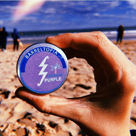 Protector solar Zinc Barreltopia Tropical Purple