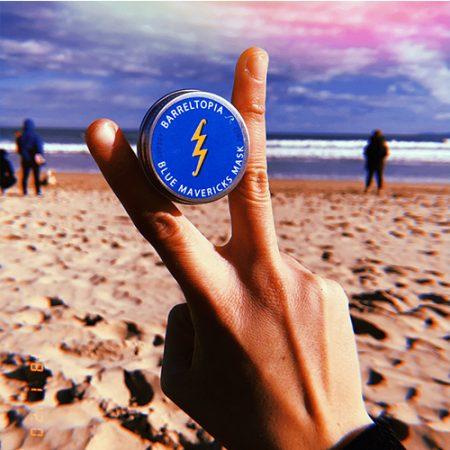 Protector solar Zinc Barreltopia Blue Mavericks