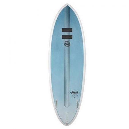 Tabla de surf Pukas Indio Racer Blue Carbon