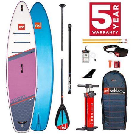 Pack de tabla de Paddlesurf Red Sport 11.3 Special Edition 2021