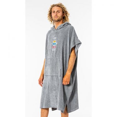 Rip Curl Poncho Wet As Gris