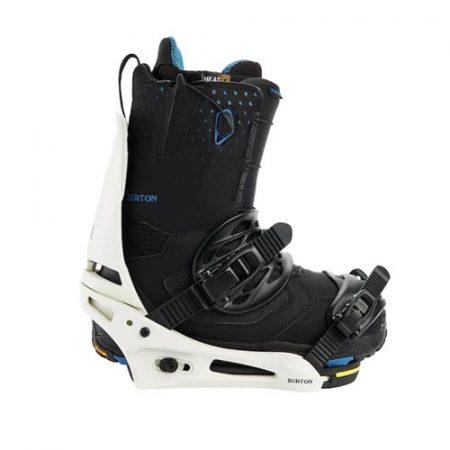 Fijaciones de snowboard Burton Cartel Stout White 2022