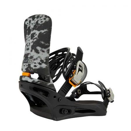 Fijaciones de snowboard Burton Cartel Gray Acid Wash 2022