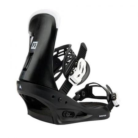 Fijaciones de snowboard Burton Freestyle Black 2022