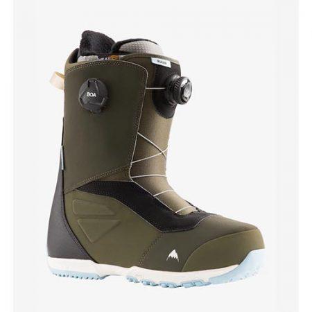 Botas de snowboard Burton Ruler BOA Green 2022